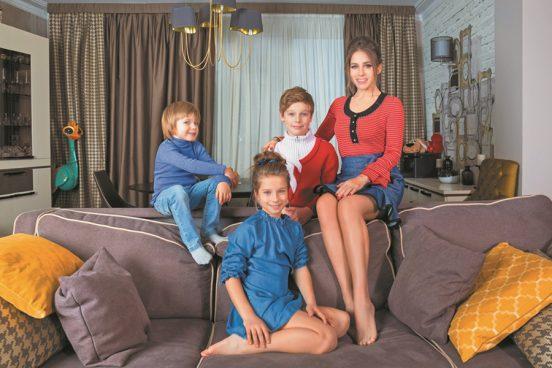 Как выглядит квартира Юлии Барановской