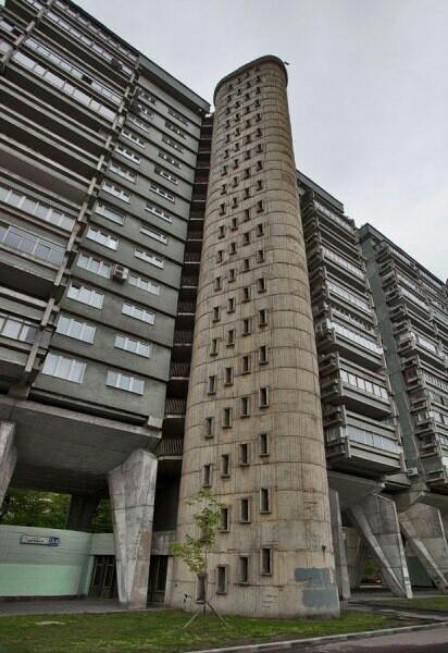 ТОП самых необычных жилых домов Москвы