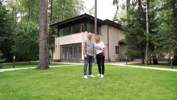Как выглядит дом Дениса Майданова