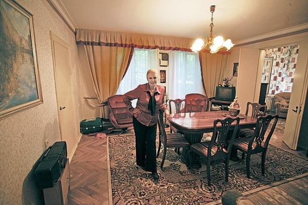 Где жила великая Элина Быстрицкая
