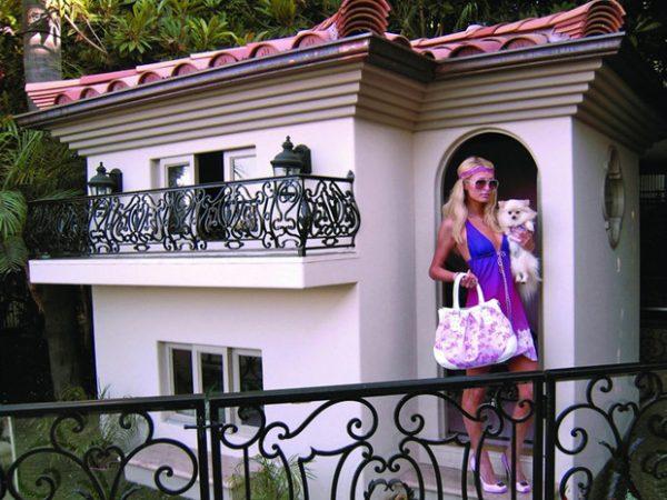 Роскошный дом Пэрис Хилтон
