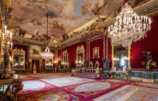Резиденции короля Испании Филиппа VI