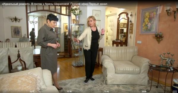 Как выглядят дома телеведущей Арины Шараповой