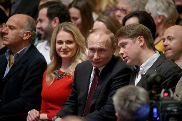 Где живут дочери Путина