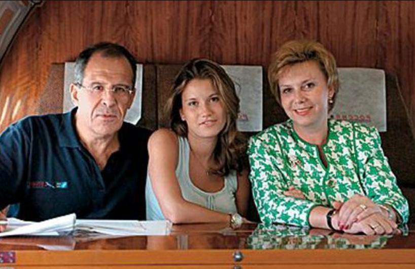 Где живет дочь Сергея Лаврова Екатерина