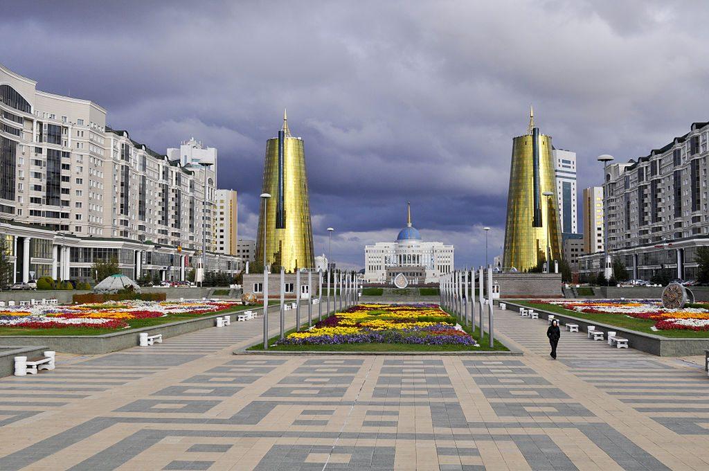 Шикарная резиденция нового президента Казахстана