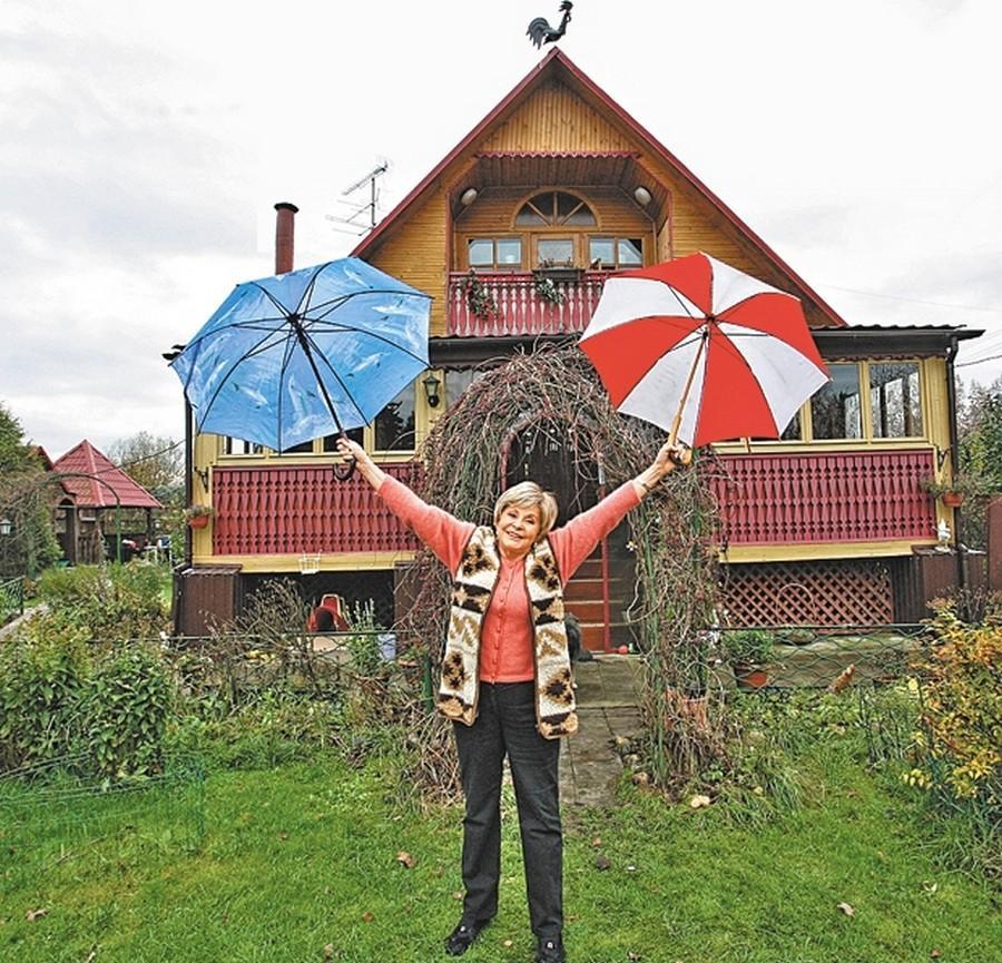 Как выглядит дом Ангелины Вовк
