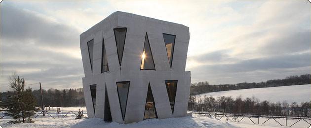 Как выглядит необычный дом Юлии Чичериной