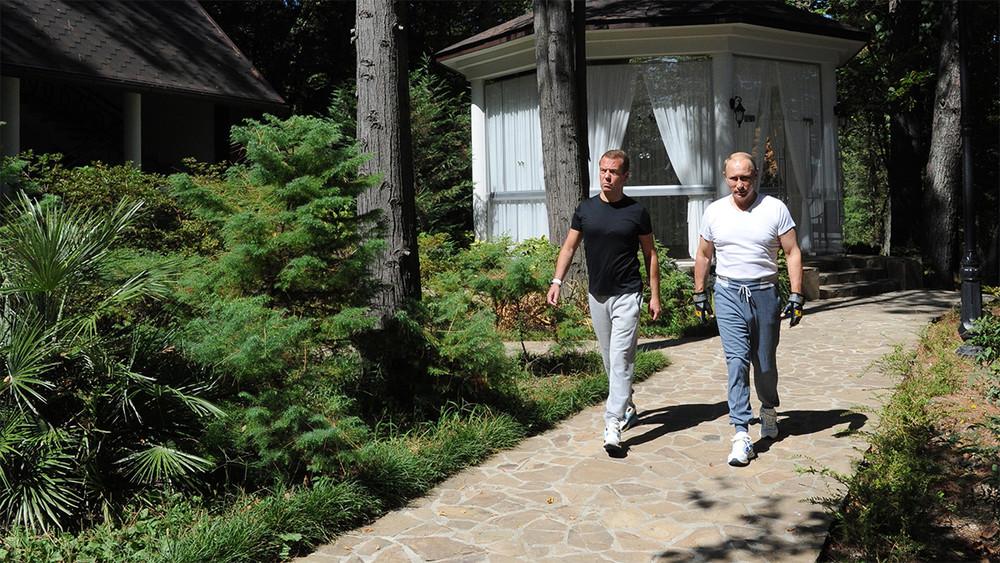 Как выглядит резиденция Владимира Путина в Сочи