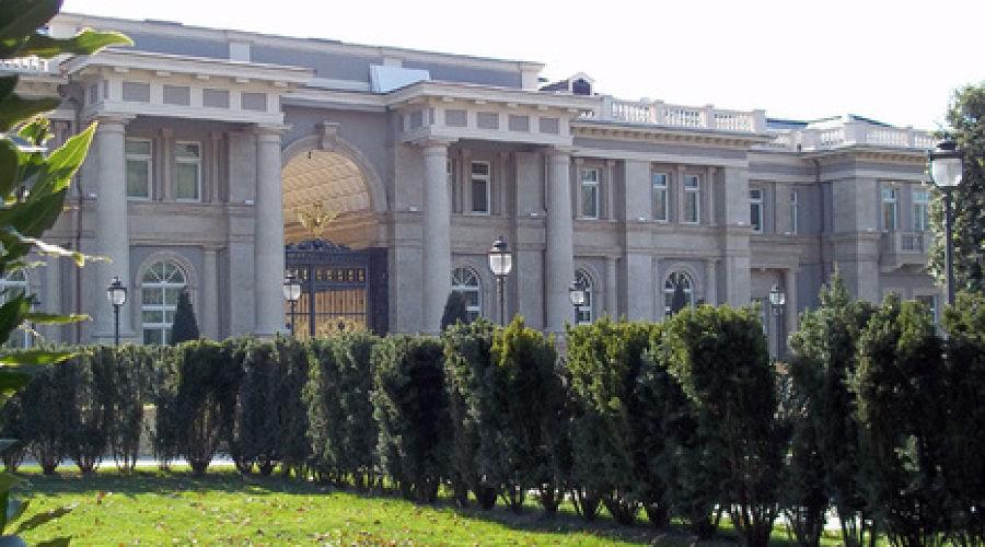 Роскошный дворец Путина в Геленджике