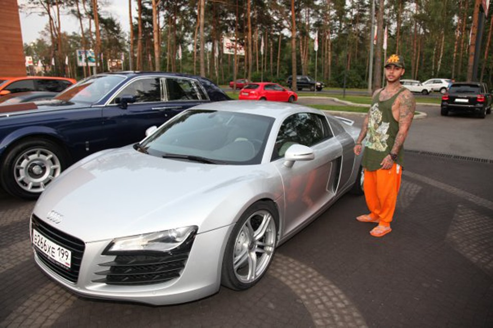 Роскошные машины российских звезд