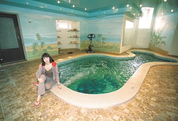Как выглядит дом Ольги Погодиной