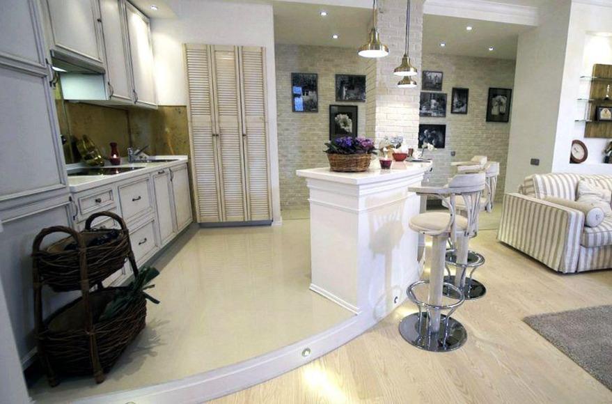 Кухня Нагиева в квартире в Москве