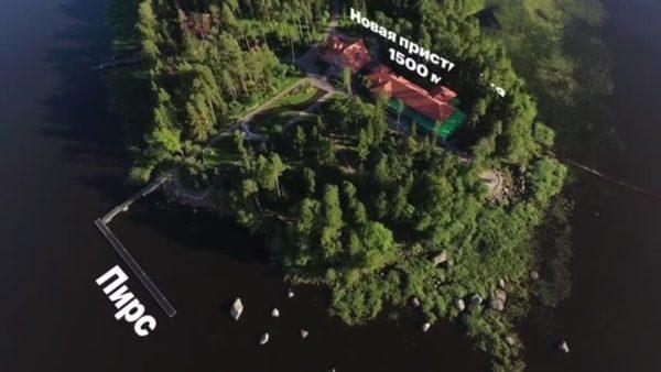 Секретная дача Путина (фото)