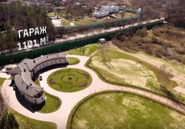 Шикарный дом Алишера Усманова на Рублевке