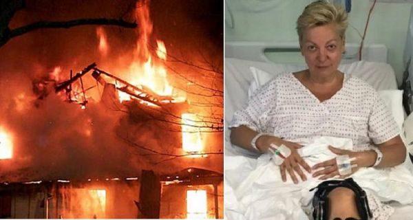 Сожгли загородный дом экс-главы Нацбанка