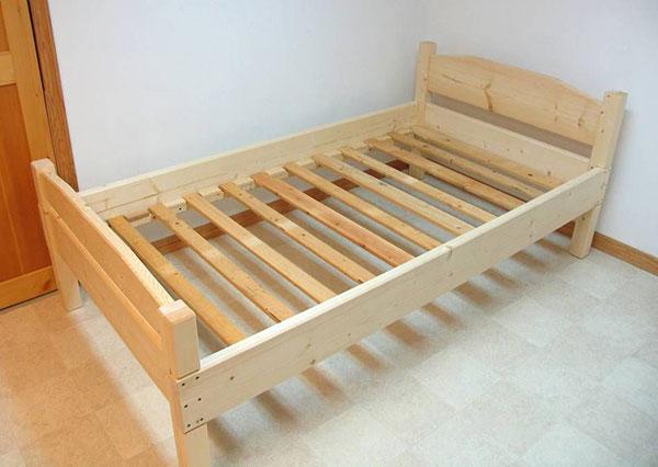 Фото каркаса деревянной кровати