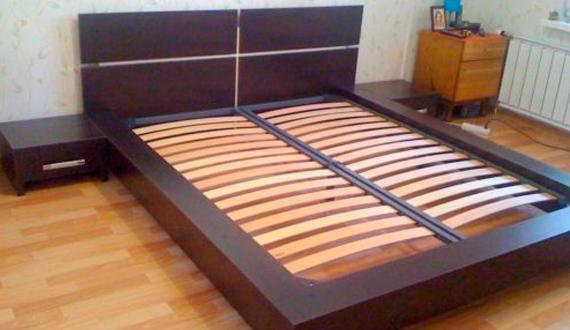 Кровать из лдсп своими руками фото 960