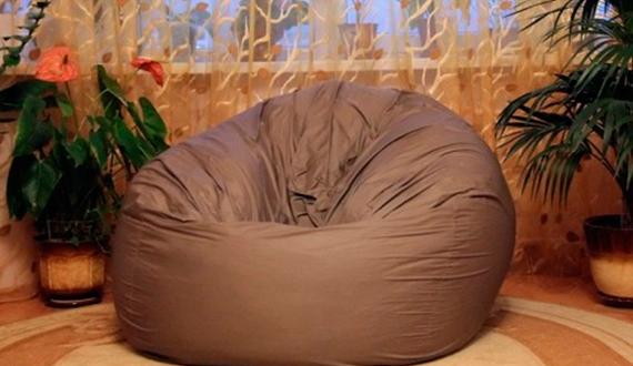 Бескаркасная мебель: как самому сшить кресло-грушу? Строительный ...