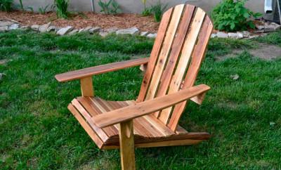 Садовое кресло своими руками 25 фото чертежи и схемы кресла из дерева адирондака и раскладного для дачи размеры