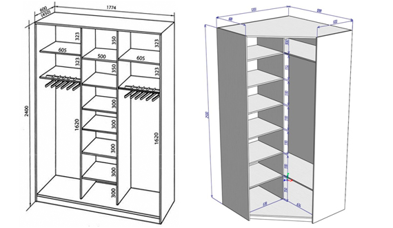 шкаф для коридора своими руками эффективно используем место