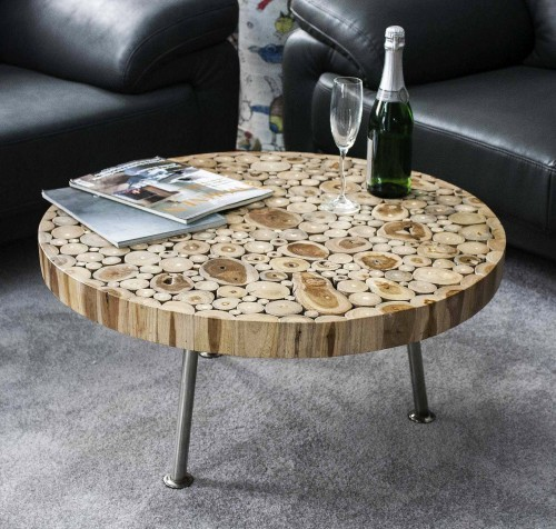 Do-it-yourself wooden table top: classic and originality.
