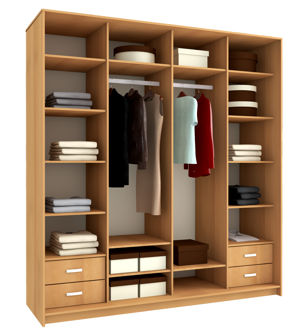 How to make shelves in the closet: useful tips.
