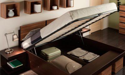 Кровать с комодом