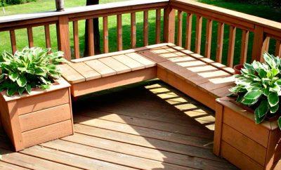 Деревянные и металлические садовые скамейки своими руками