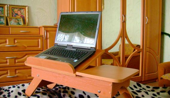 Как сделать столик для ноутбука фото 304