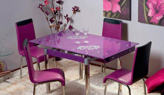 Glass table do it yourself: manufacturing standards.