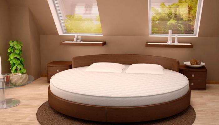 Круглая кровать своими руками видео фото 994