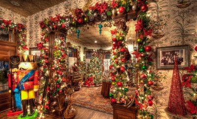 Как украсить квартиру к рождеству