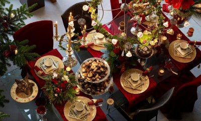 Как красиво украсить стол к новому году