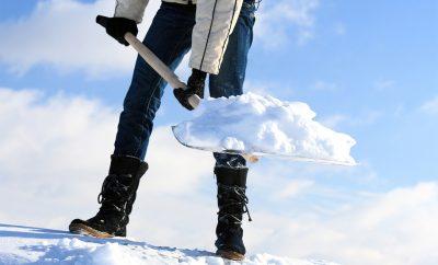 быстро почистить снег