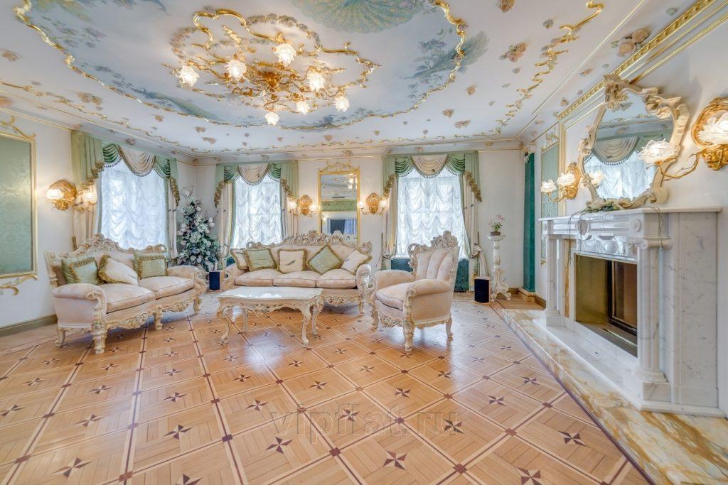 богатые дома потолок фото деловых