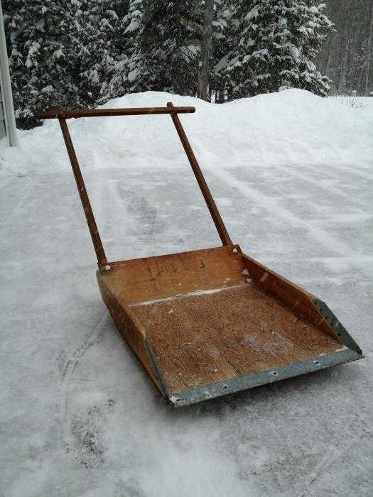 How to quickly clean snow: shapes (photo)