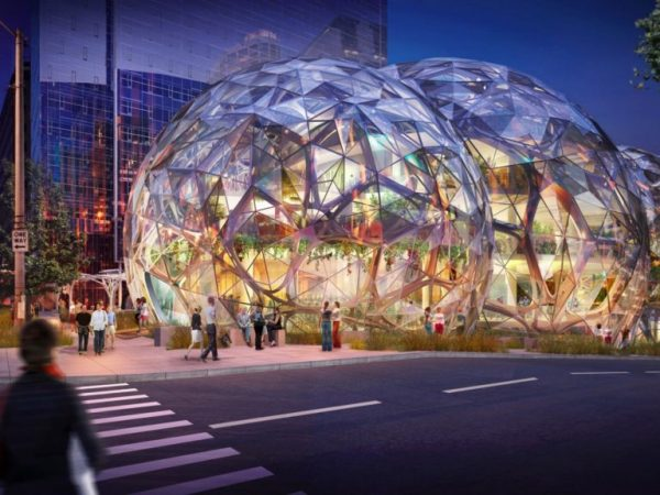 Amazon Office Seattle: Photos
