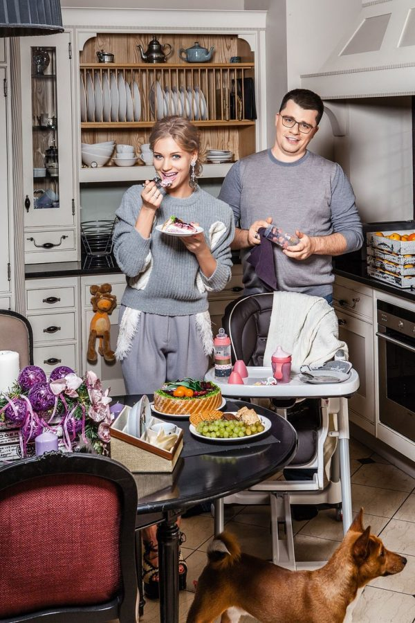 Apartment Garik Kharlamov and Kristina Asmus: photos