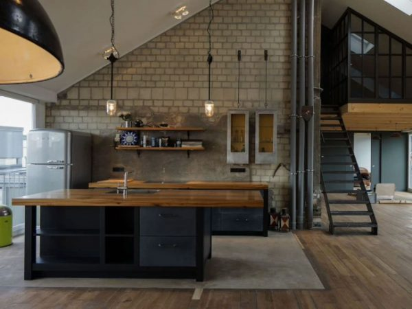Interior loft style - 30 best ideas