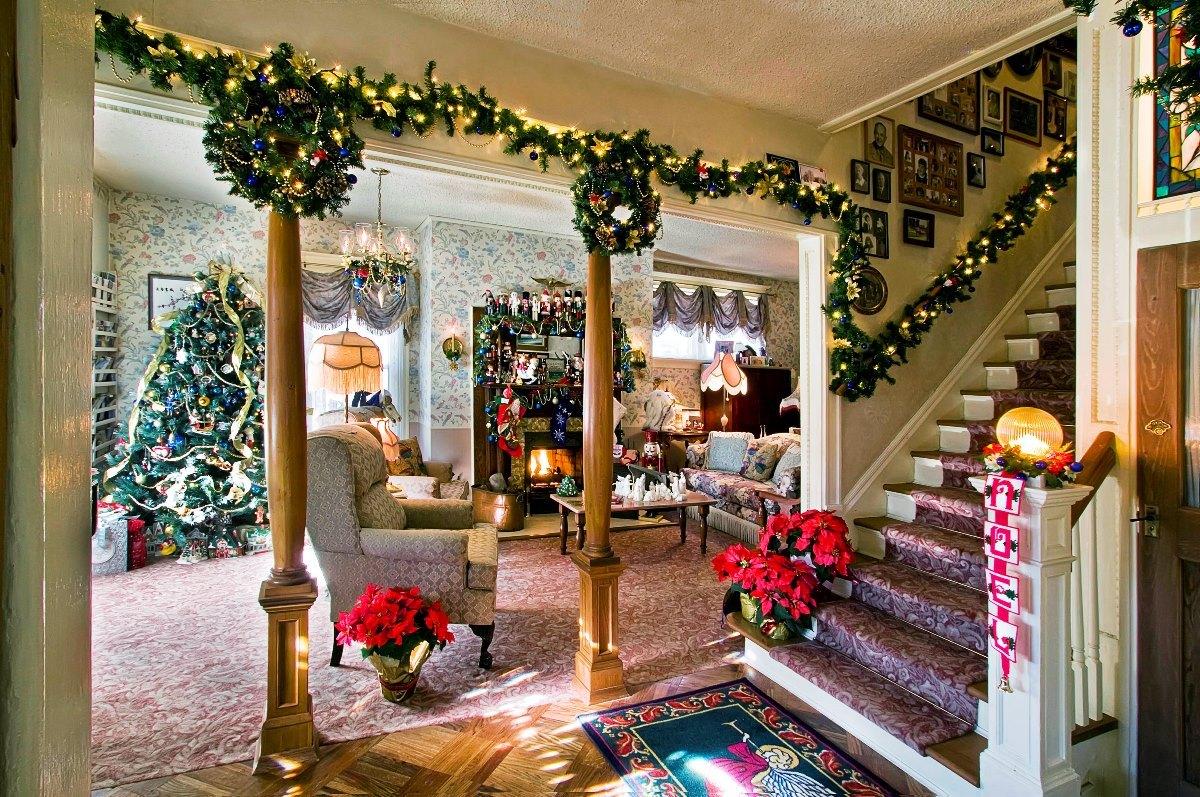 картинки новый год украшение дома здесь