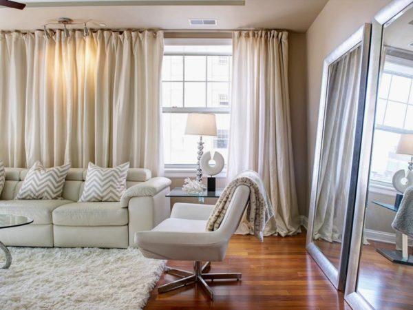 Новинки штор для гостиной в современном стиле 2019-2020 года