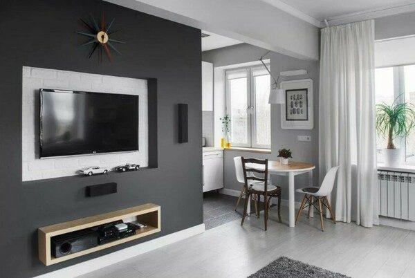 Ошибки при оформлении маленькой квартиры с фото