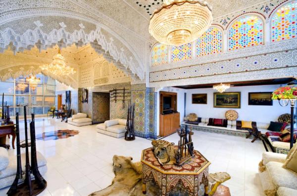 Интерьер домов арабских шейхов (фото)