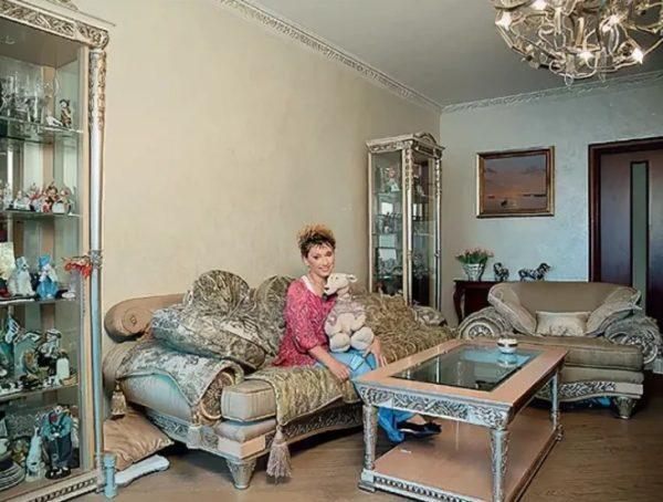Роскошная квартира и дача Елены Воробей (фото)