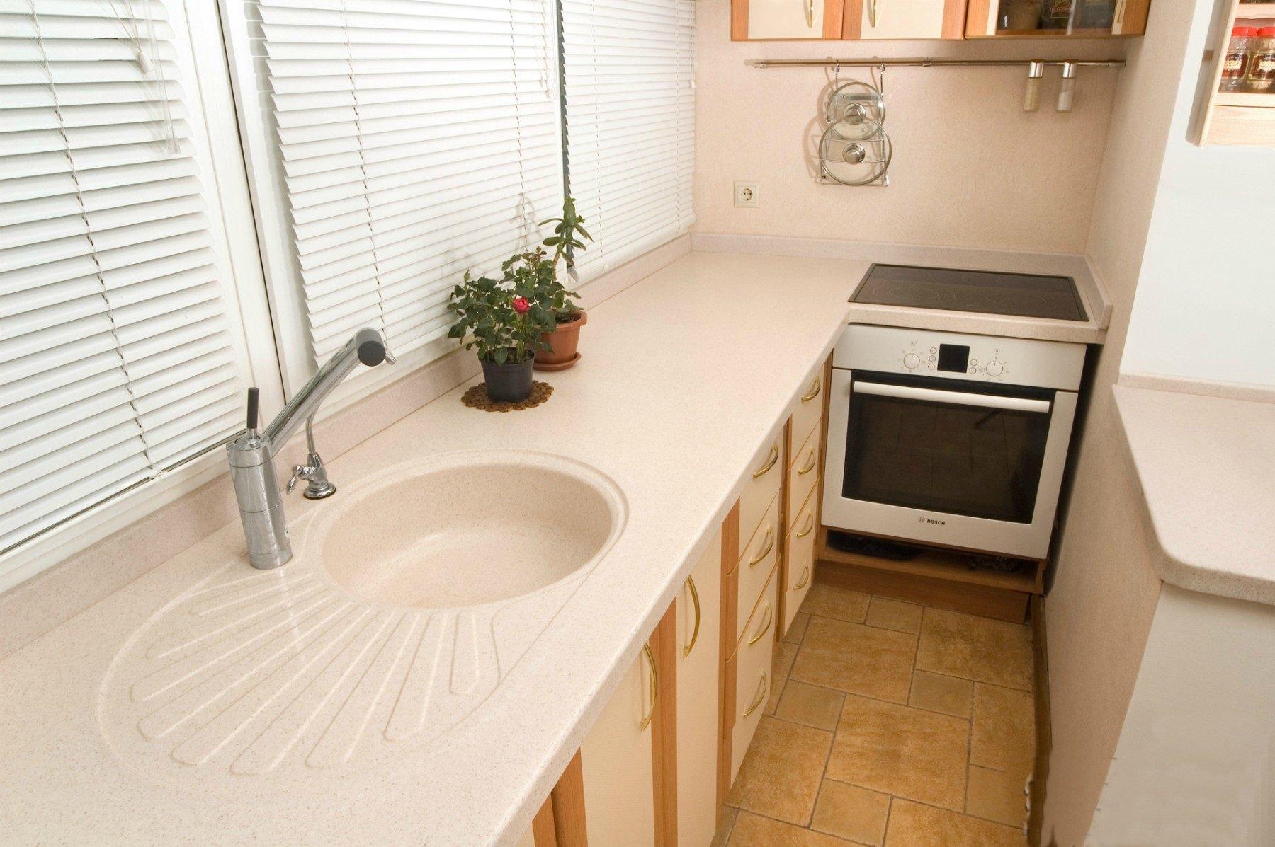 кухня на балконе или лоджии фото дизайн же