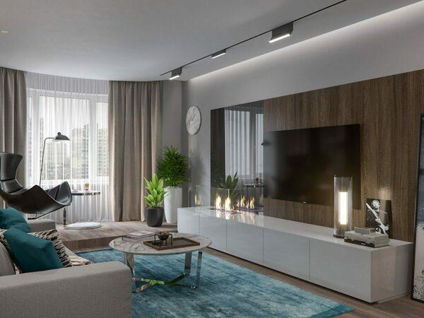 Идеи штор в зал в современном стиле 2019-2020