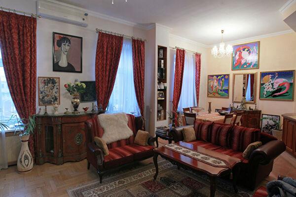 Двухуровневые апартаменты Журбина в самом центре столицы за 3 млн. долларов