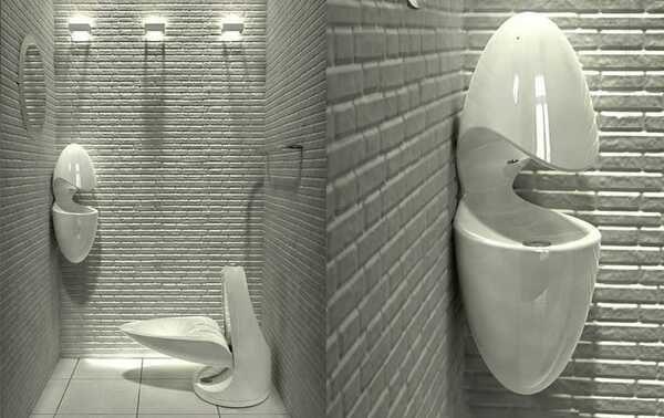 Идеи дизайна маленького туалета в квартире 2019-2020