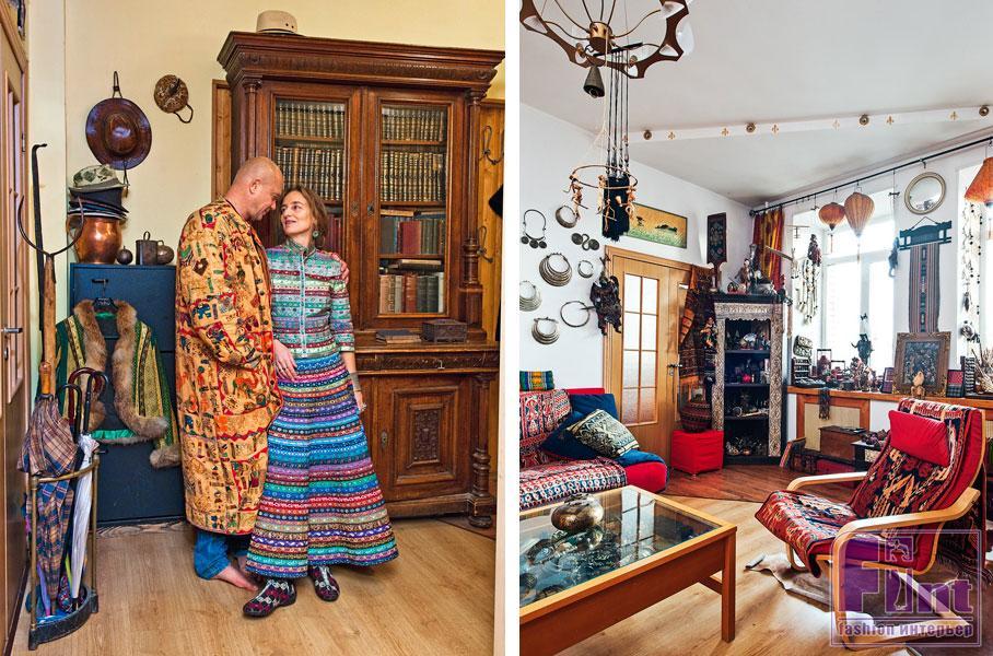 Андрей Смоляков: настоящая творческая мастерская в квартире